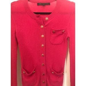 Marc by Marc Jacobs pink cardigan sweater small